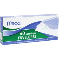 MEA 75214 Mead No. 10 Security Envelopes MEA75214