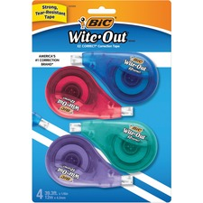BIC WOTAPP418 Bic Wite-Out EZCorrect Correction Tape BICWOTAPP418