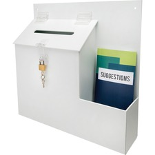 DEF 79803 Deflecto Suggestion Box w/Lock DEF79803