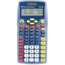 TEX TI15 Texas Inst. TI-15 Explorer Elementary Calculator TEXTI15