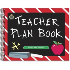 TCR 2093 Teacher Created Res. Chalkboard Teacher Plan Book TCR2093