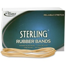 ALL 25405 Alliance Natural Crepe Sterling Rubber Bands ALL25405