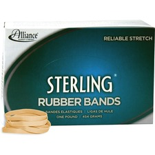 ALL24625 - Alliance Rubber 24625 Sterling Rubber Bands - Size #62