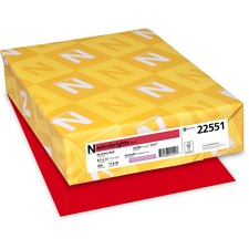 WAU 22551 Wausau Astrobrights 24 lb Colored Paper WAU22551