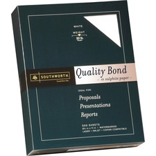 SOU 3162010 Southworth Quality Bond Paper SOU3162010