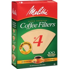 MLA 624602 Melitta Super Premium No. 4 Coffee Filters MLA624602