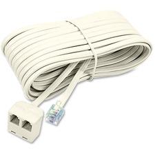 SOF 04130 Softalk TelephonePlug/Dual Jack Extension Cord  SOF04130