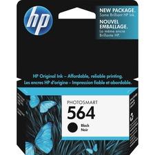 HP 564 Original Ink Cartridge - Single Pack - Inkjet - Black - 1 Each