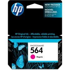 HP 564 Original Ink Cartridge - Single Pack - Inkjet - Standard Yield - 300 Pages - Magenta - 1 Each