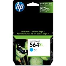 HP 564XL Original Ink Cartridge - Single Pack - Inkjet - Cyan - 1 Each