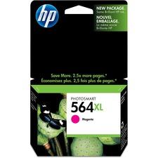 HP 564XL Original Ink Cartridge - Single Pack - Inkjet - Magenta - 1 Each