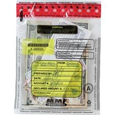 MMF 2362010N20 MMF Industries Clear Tamper-Evident Deposit Bags MMF2362010N20