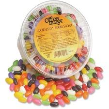 OFX 70013 Office Snax Gourmet Jellybean Candy OFX70013