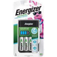 EVE CH1HRWB4 Energizer Recharge Battery Charger EVECH1HRWB4