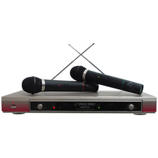 Pyle PDWM2000 Dual Wireless Microphone System