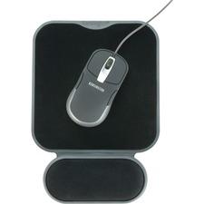 Kensington SmartFit Mouse Pad - Black - Memory Foam, Lycra, Cloth - Anti-skid - 1 Pack