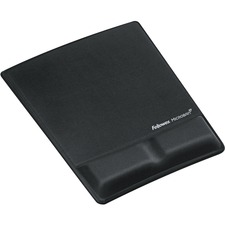 FEL 9181201 Fellowes Microban Mouse Pad/Wrist Support FEL9181201