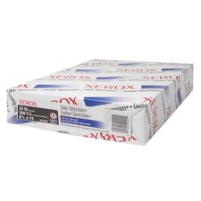 """Xerox Color Xpressions Laser Copy & Multipurpose Paper - White - 100 Brightness - Letter - 8 1/2"""" x 11"""" - 32 lb Basis Weight - Smooth - 500 / Ream - SFI"""