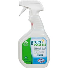CLO 00459 Clorox Green Works Natural Glass/Surface Cleaner CLO00459