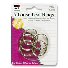 """LEO 65016 Charles Leonard 1"""" Looseleaf Rings LEO65016"""