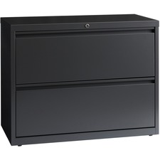 LLR 60449 Lorell Hanging File Drawer Charcoal Lateral Files LLR60449