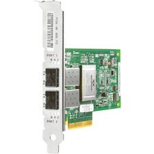 HP Compaq StorageWorks Single Port Fibre Channel Host Bus Adapter - 1 x LC - PCI Express - 8Gbps