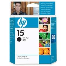 HP 15 Original Ink Cartridge - Single Pack - Inkjet - 500 Pages - Black - 1 Each