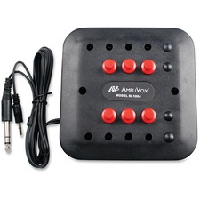 APL SL1004 Amplivox Six-station Jack Box APLSL1004