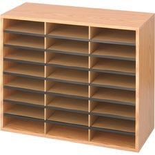 SAF 9402MO Safco Laminte Literature Organizer SAF9402MO