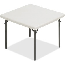 ICE 65273 Iceberg IndestrucTableToo Square Folding Table ICE65273