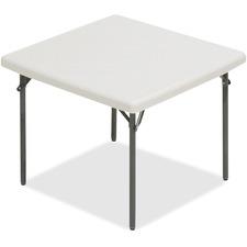 ICE 65273 Iceberg IndestrucTableToo Square Folding Table ICE65273