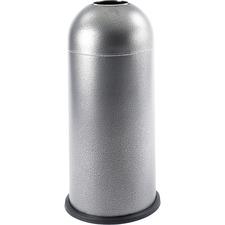 SAF 9676NC Safco Open Dome Waste Receptacle SAF9676NC