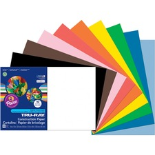 PAC 103063 Pacon Tru-Ray Heavyweight Construction Paper PAC103063