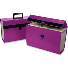 "Pendaflex Portafile 01157 Expanding Organizer - Legal, Letter - 8 1/2"" x 11"", 8 1/2"" x 14"" Sheet Size - 5 1/2"" Expansion - 19 Pocket(s) - Paper - Purple - 1 Each"