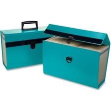 "Pendaflex Portafile 01160 Expanding Organizer - Legal, Letter - 8 1/2"" x 11"", 8 1/2"" x 14"" Sheet Size - 5 1/2"" Expansion - 19 Pocket(s) - Paper - Turquoise - 1 Each"