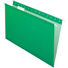 Pendaflex Legal Recycled Hanging Folder - Green - 10% - 25 / Box