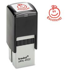 "Trodat Self-Inking Stamp - Custom Message Stamp - 0.81"" (20.64 mm) Impression Width x 0.81"" (20.64 mm) Impression Length - 1 Each"