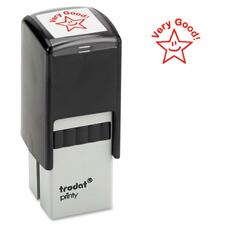 "Trodat Self-Inking Stamp - Custom Message Stamp - 0.81"" (20.64 mm) Impression Width x 0.81"" (20.64 mm) Impression Length - 1 Each"