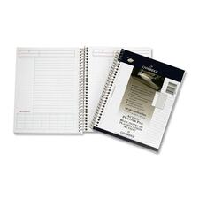 """Hilroy Side Wire Notebook - 80 Sheets - Wire Bound - Both Side Ruling Surface - 20 lb Basis Weight - 7 1/2"""" x 9 1/2"""" - White Paper - 1Each"""