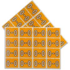 "Pendaflex color Coded Label - ""Alphabet"" - 1 1/4"" x 15/16"" Length - Rectangle - Light Orange - 240 / Pack"