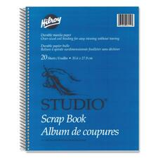 "Hilroy Coil Scrapbook - 20 Capacity - 14"" (355.60 mm) Width x 11"" (279.40 mm) Length"