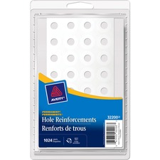 Avery 32200 Hole Reinforcement Label