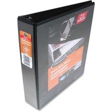 "Wilson Jones D-Ring View Binder - 4"" Binder Capacity - Letter - 8 1/2"" x 11"" Sheet Size - D-Ring Fastener(s) - Black - Wear Resistant, Tear-resistant - 1 Each"