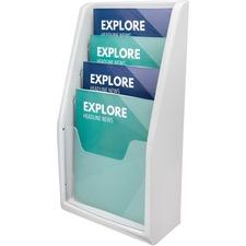 DEF 52009 Deflecto Countertop/Wall Mount Literature Display DEF52009