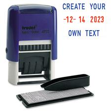 Trodat Printy Day Year Dater Stamp - Date Stamp - 1 Each