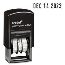 Trodat Printy Pocket Dater Stamp - Date Stamp - Recycled - 1 Each