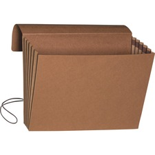 """Smead Legal Recycled File Wallet - 9 1/2"""" x 14 5/8"""" - 700 Sheet Capacity - 5 1/4"""" Expansion - Redrope, Tyvek, Paper - 30% Recycled - 1 Each"""