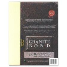 """First Base Granite Bond 78303 Laser Laser Paper - Ivory - Recycled - Letter - 8 1/2"""" x 11"""" - 24 lb Basis Weight - 400 / Pack"""