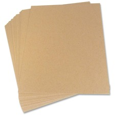 "Crownhill Envelope Stiffener Boards - Board - 8 1/2"" Width x 11"" Length - Board Stock - 25 / Pack - Brown"