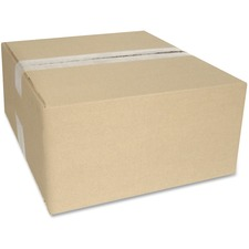 "Crownhill Corrugated Shipping Box - External Dimensions: 8.8"" Width x 4.8"" Depth x 11.8"" Height - 200 lb - Brown - Recycled - 1 Each"
